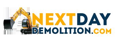 Next Day Demolition Mckinney Texas Logo